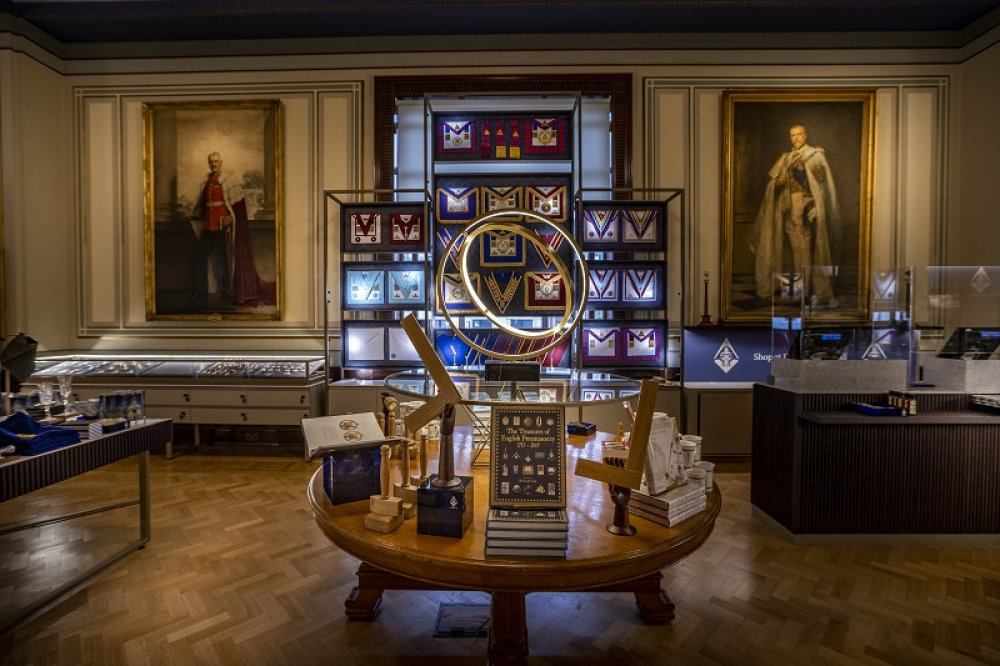 Freemasons' Hall opens high-end retail experience in the heart of London
