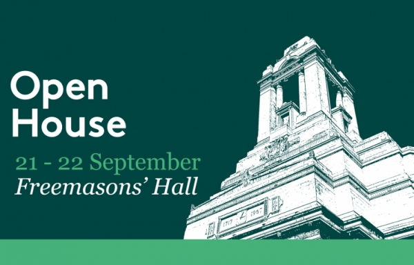 UGLE's headquarters Freemasons' Hall is taking part in Open House London this September