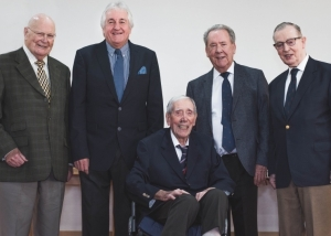 Five Provincial Grand Masters of Leicestershire & Rutland